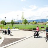 commercial bike path
